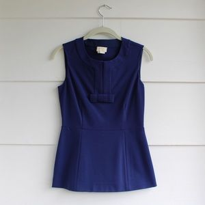 Kate Spade French Navy Bow Top